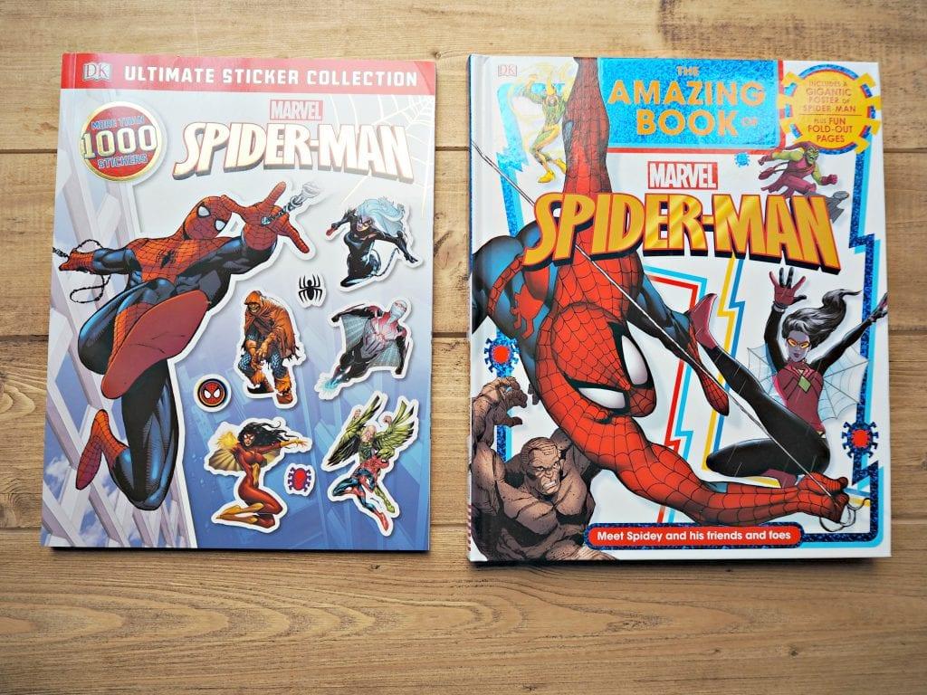 DK Spiderman Books
