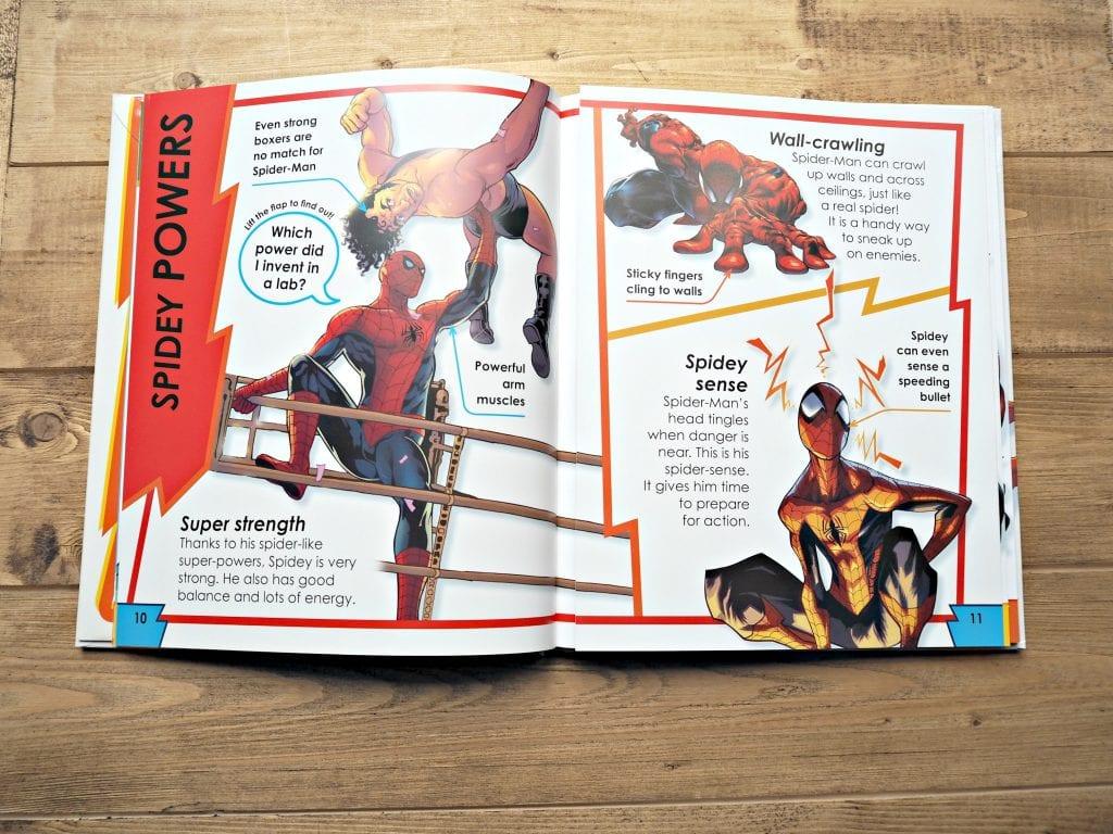 DK Spiderman Books - inside books 2