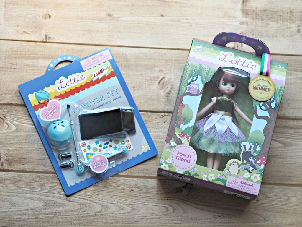 Forest Friend Lottie Doll & Scooter Set Review