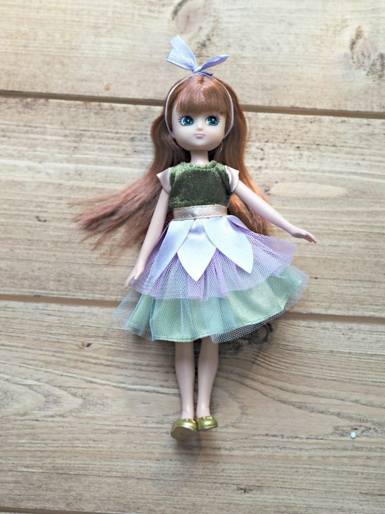 Forest Friend Lottie Doll & Scooter Set Review - Lottie Doll close up