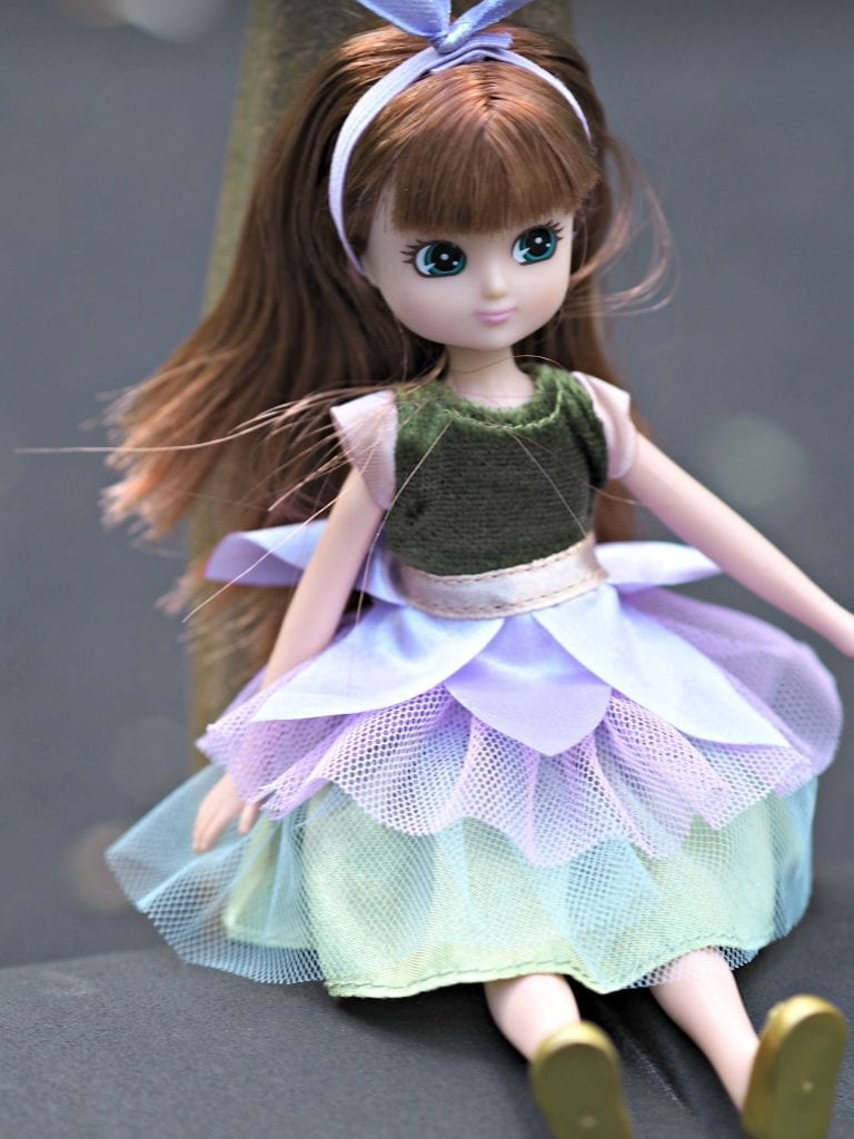 Lottie Doll swinging
