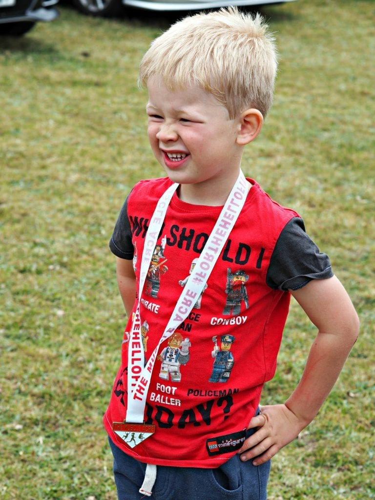 Muscle Acre July 2017 - Logan with medal