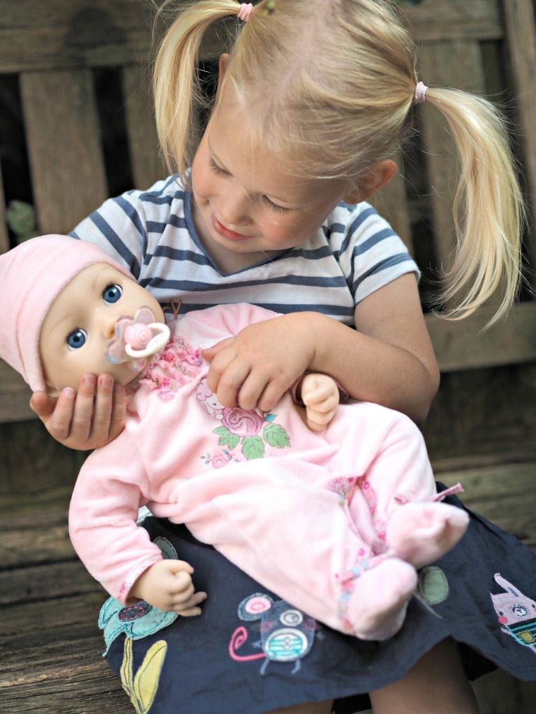 REVIEW: Baby Annabell Interactive Doll - Laura's Lovely Blog