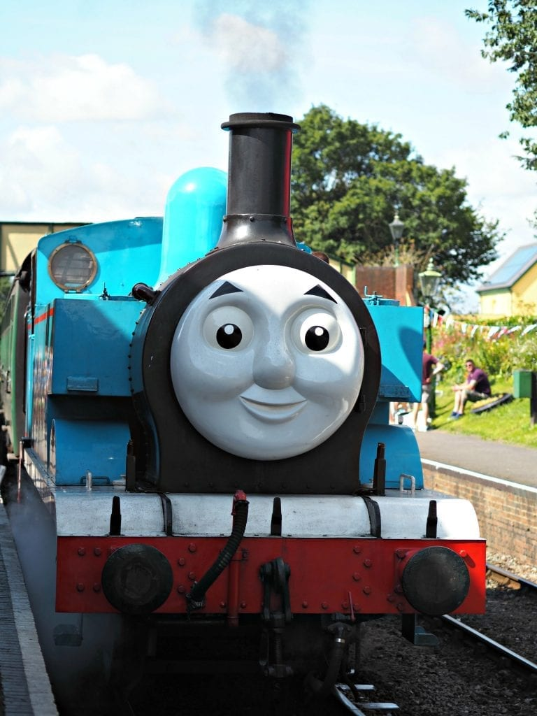 Day out with Thomas at the Watercress Line - Thomas