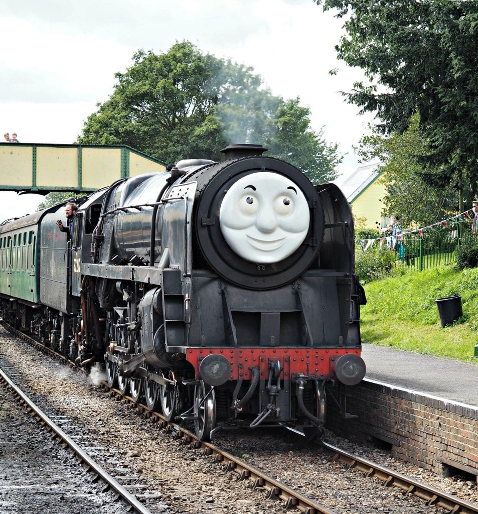 Day out with Thomas at the Watercress Line - train