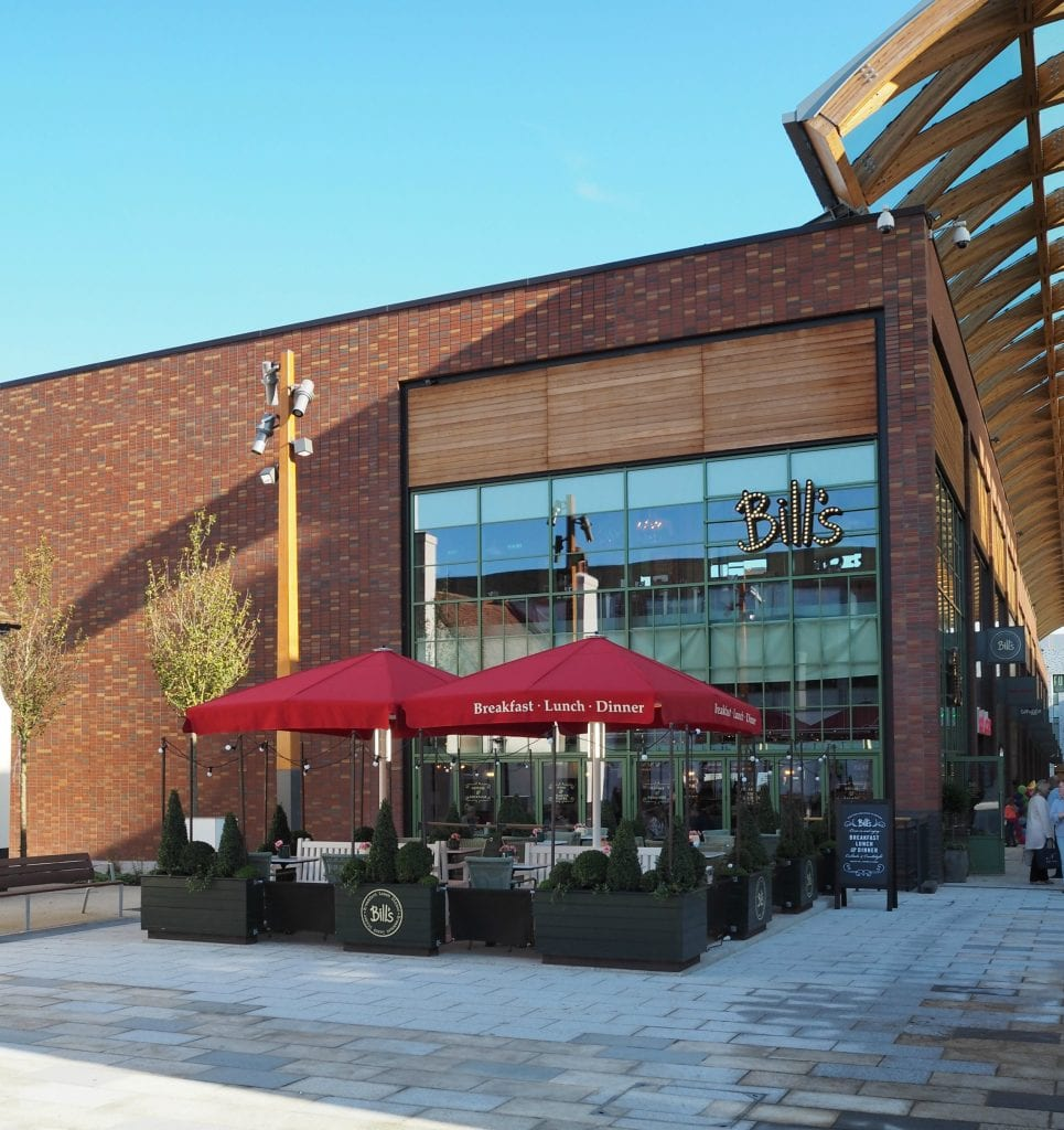 The Opening of the Lexicon in Bracknell - Bills