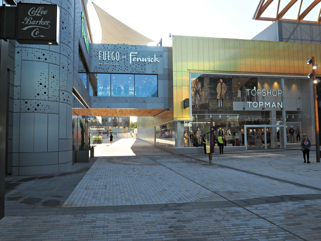 The Opening of the Lexicon in Bracknell - Fenwick