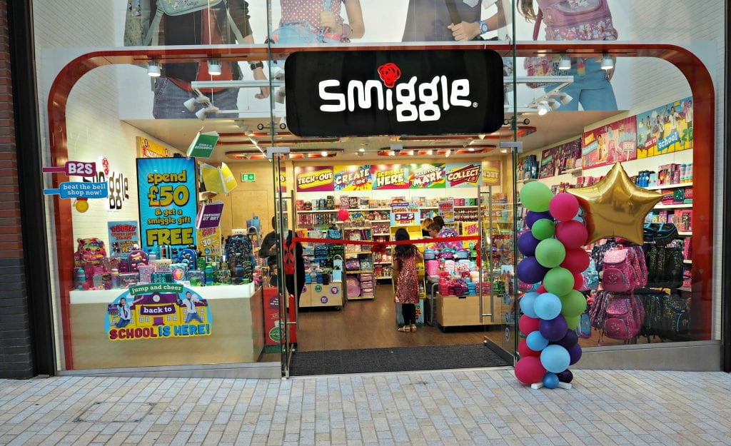 The Opening of the Lexicon in Bracknell - Smiggle opening
