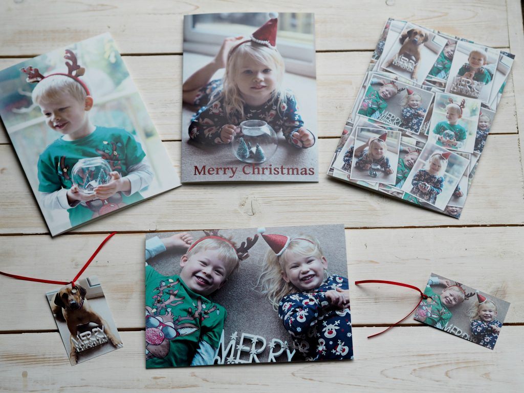 Bags of Love Personalised Christmas Cards