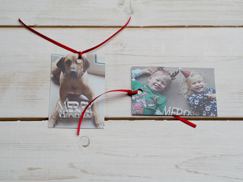 Bags of Love Personalised Christmas Cards - gift tags