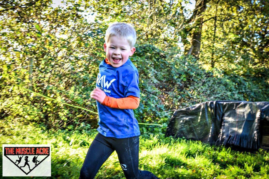 Muscle Acre Mud Slog November 2017 Review - Logan running