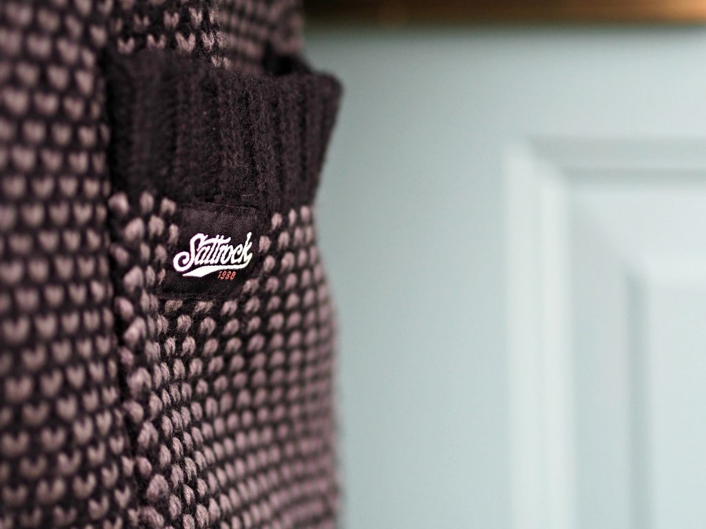 Saltrock Clovelly Knitted Cardigan Review - detail view