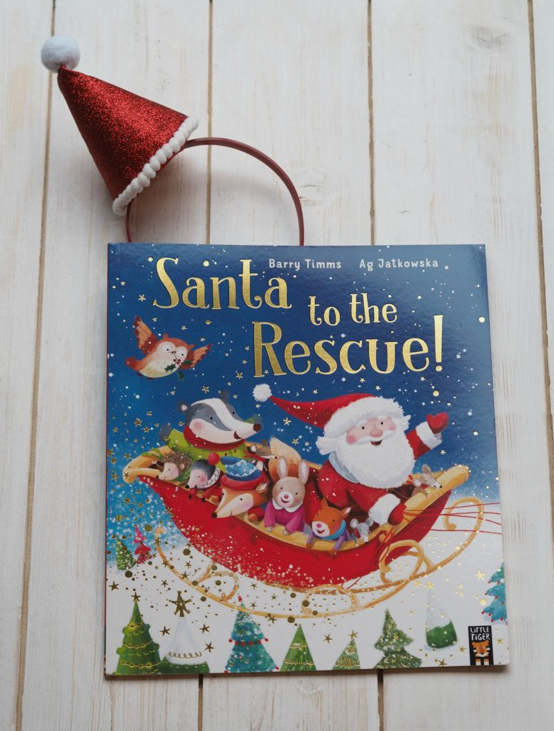 New Christmas Books Roundup - December 2017 - Santa to the Rescue