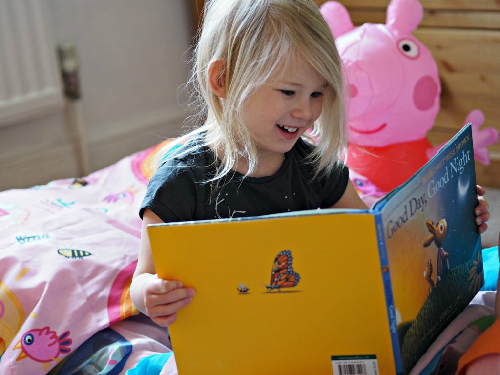 Bath, Book, Bed Routine with the Book Trust - Aria reading