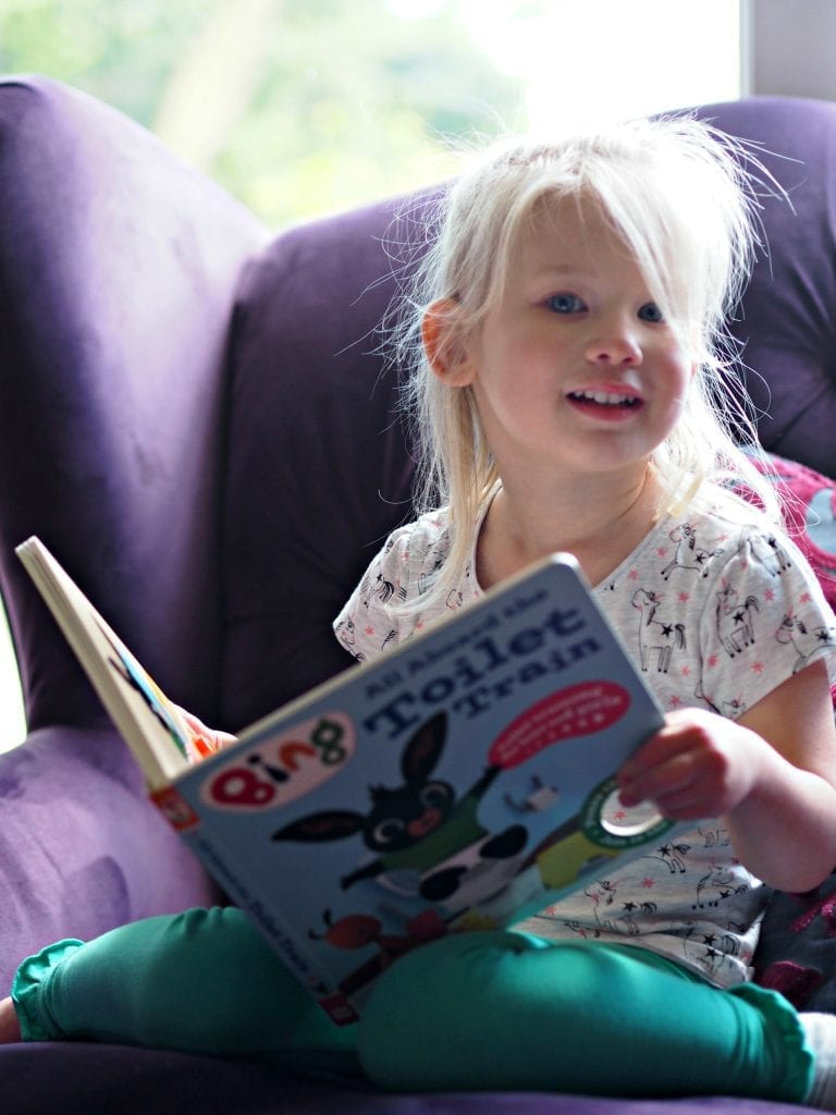 CHILDREN'S BOOK REVIEW All Aboard the Toilet Train! A Noisy Bing Book - Aria reading