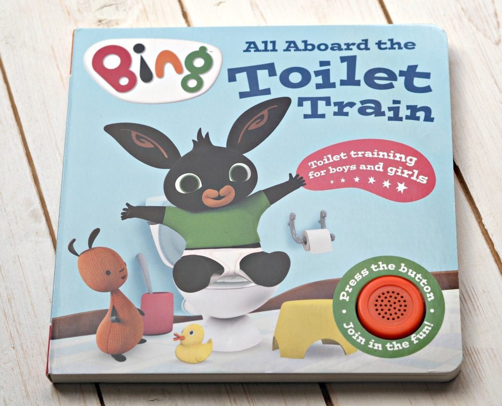 CHILDREN'S BOOK REVIEW All Aboard the Toilet Train! A Noisy Bing Book - book cover