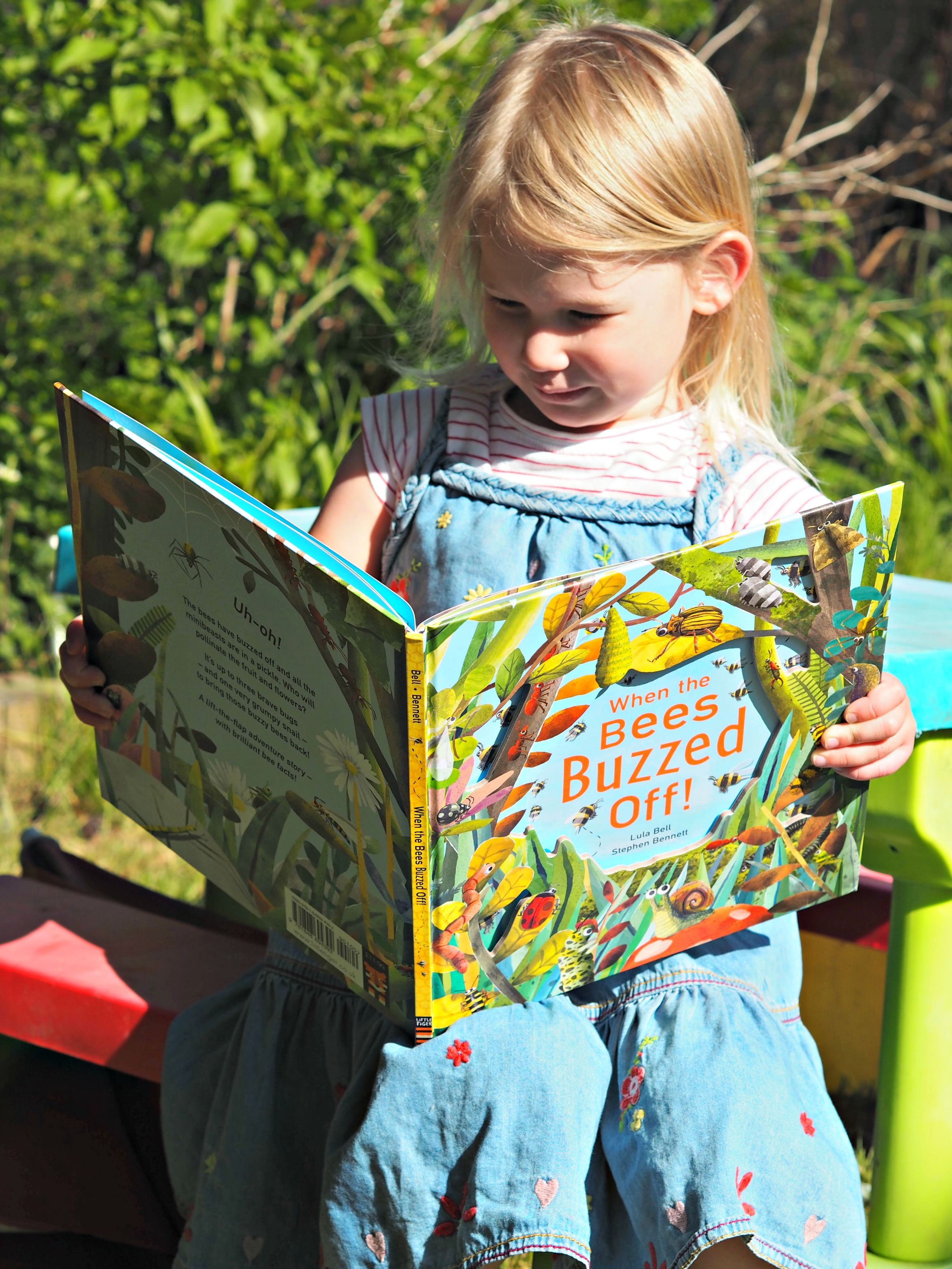 CHILDREN'S BOOK REVIEW When the Bees Buzzed Off