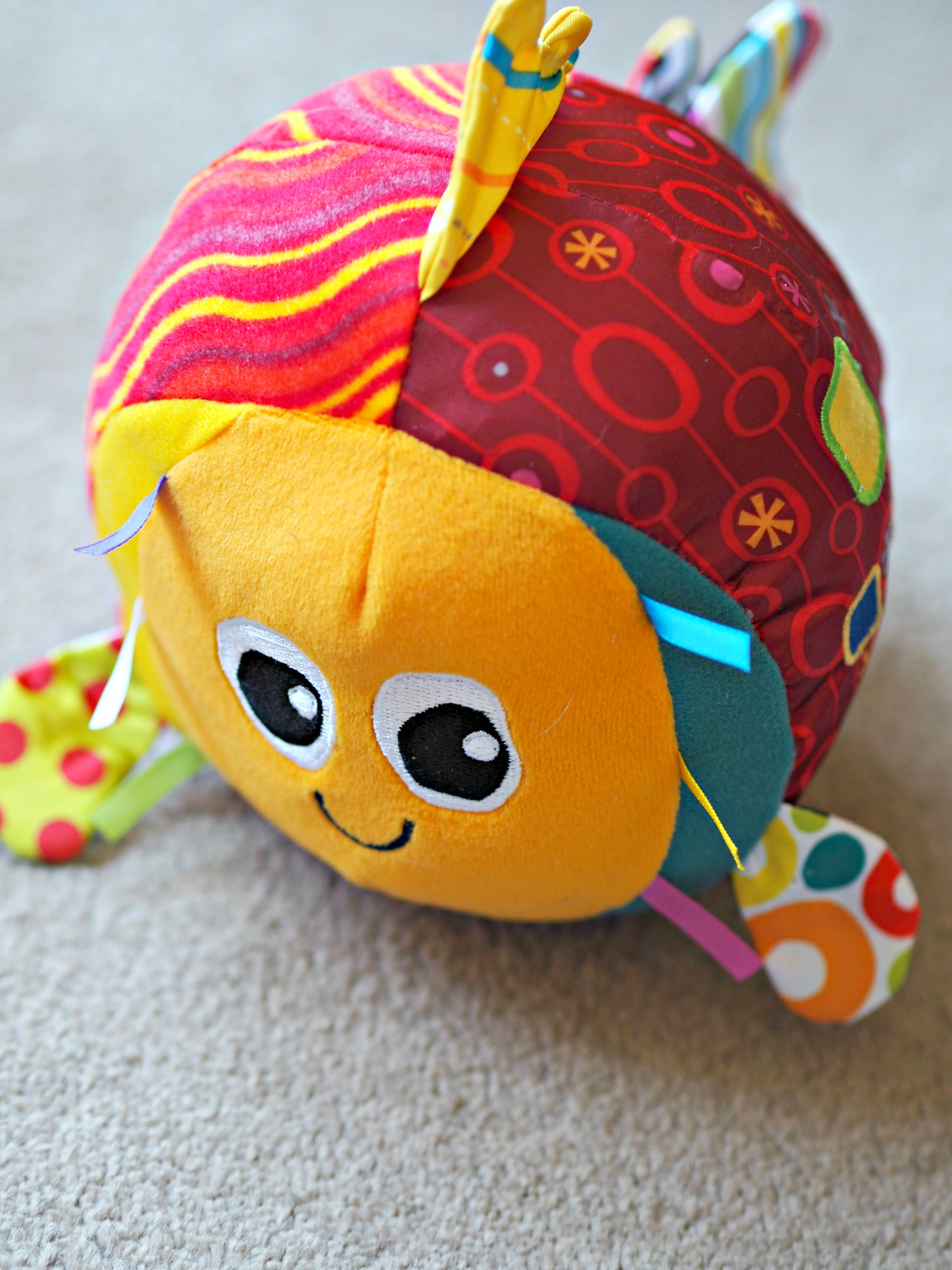 Encouraging Baby's Development with Tomy Lamaze - Rolling Rosa