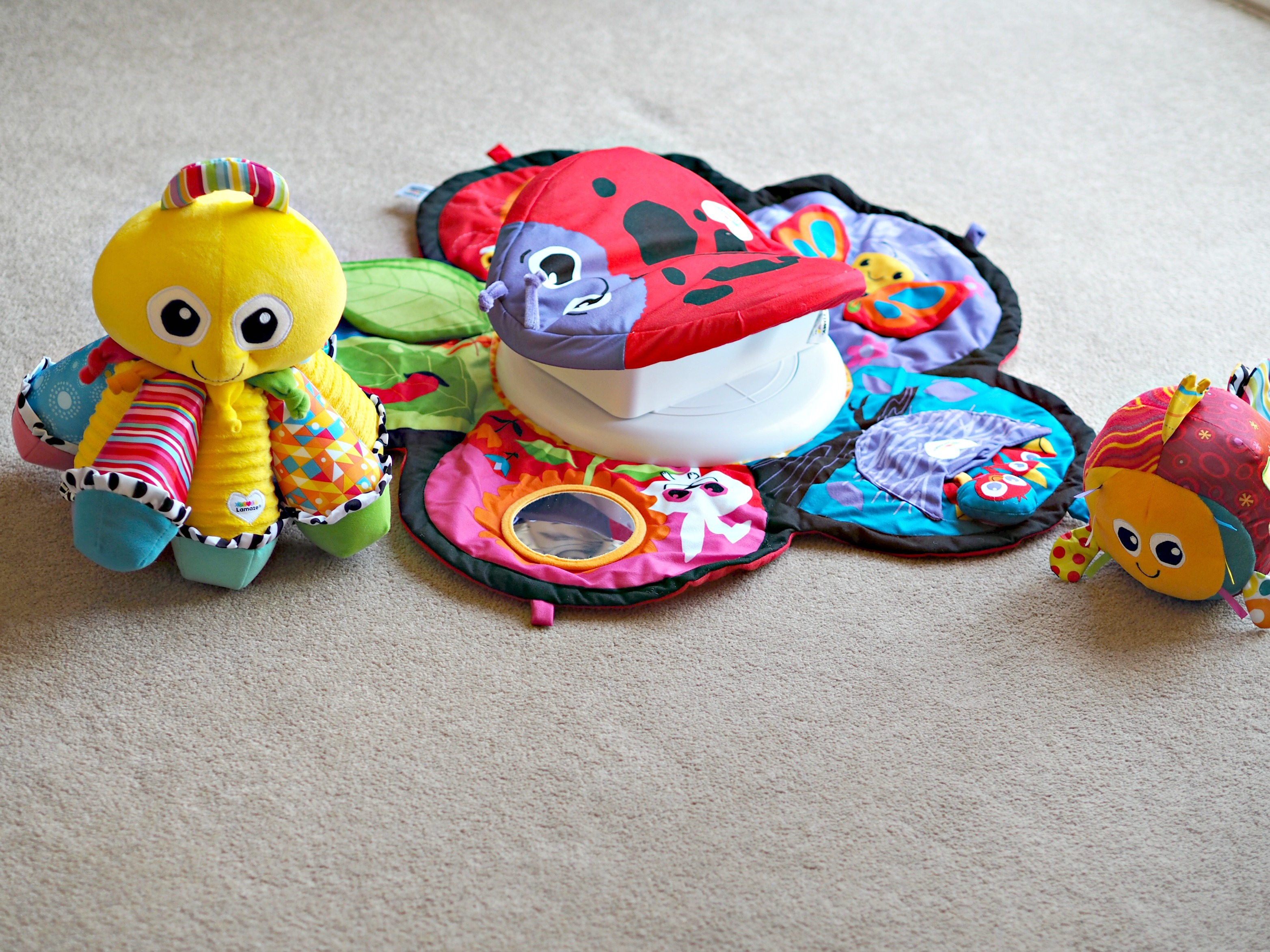 Encouraging Baby's Development with Tomy Lamaze - items for review