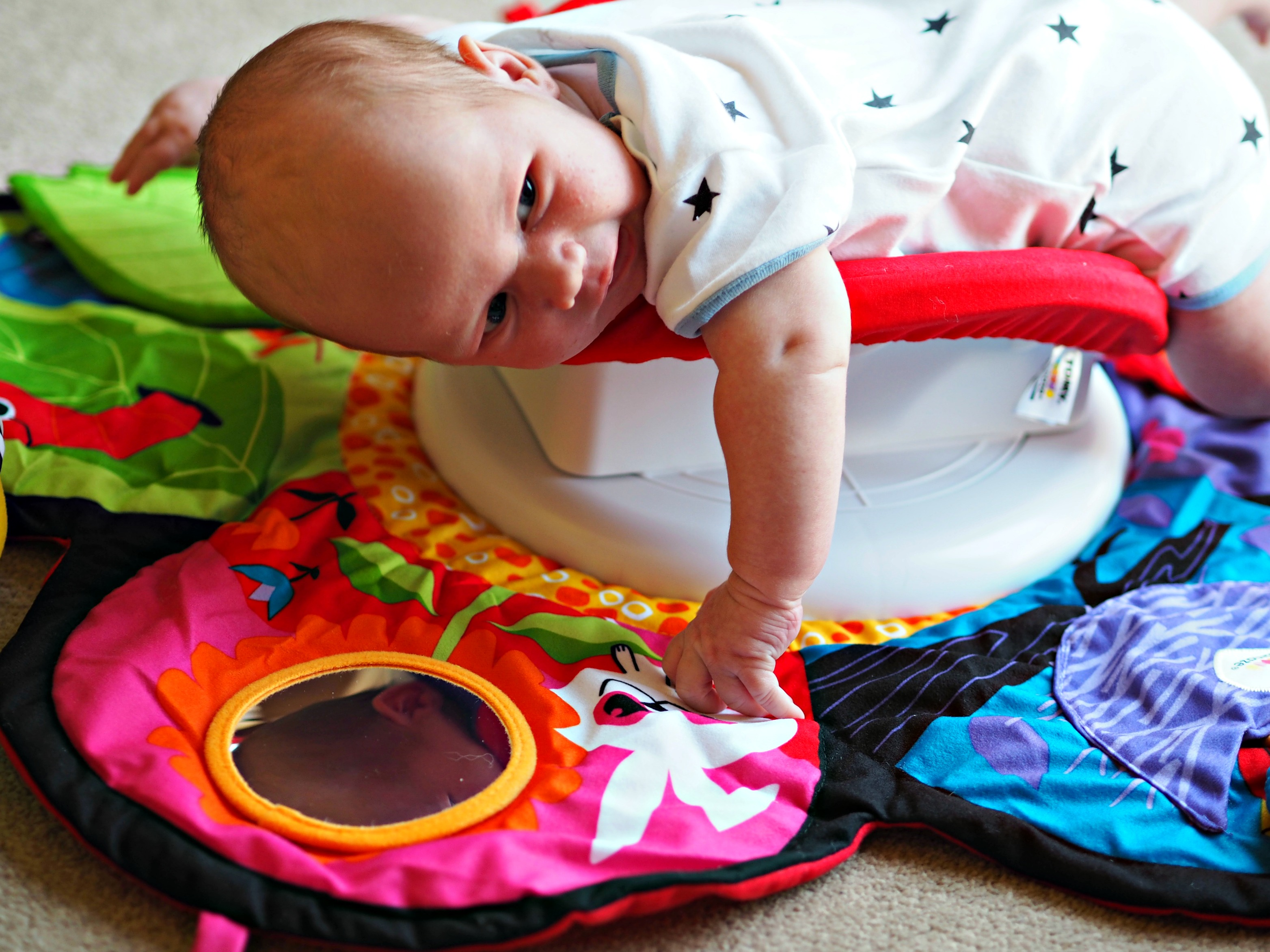 Encouraging Baby's Development with Tomy Lamaze