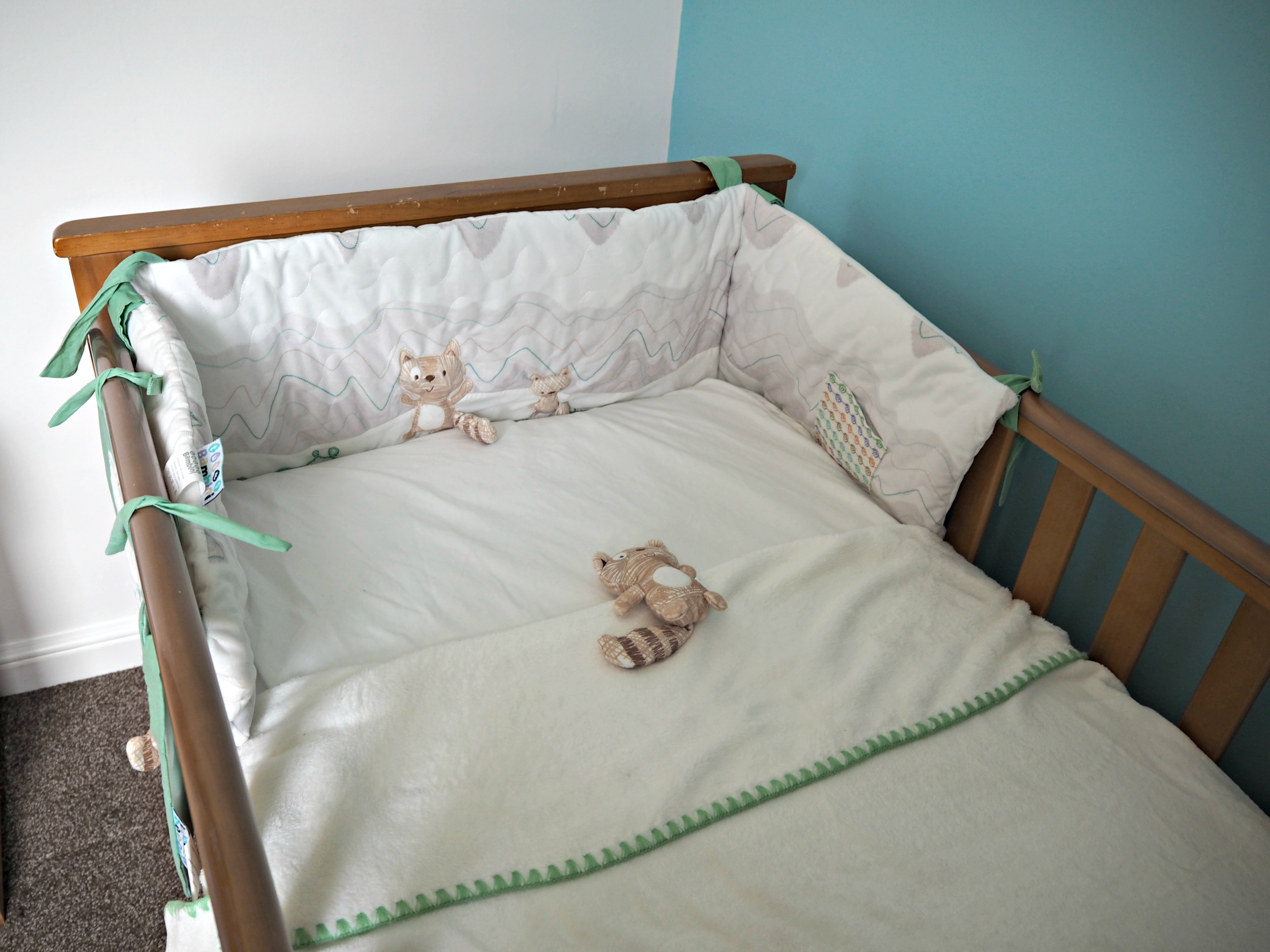 Getting Bodhi's Nursery Ready with Kiddies Kingdom - bedding bale