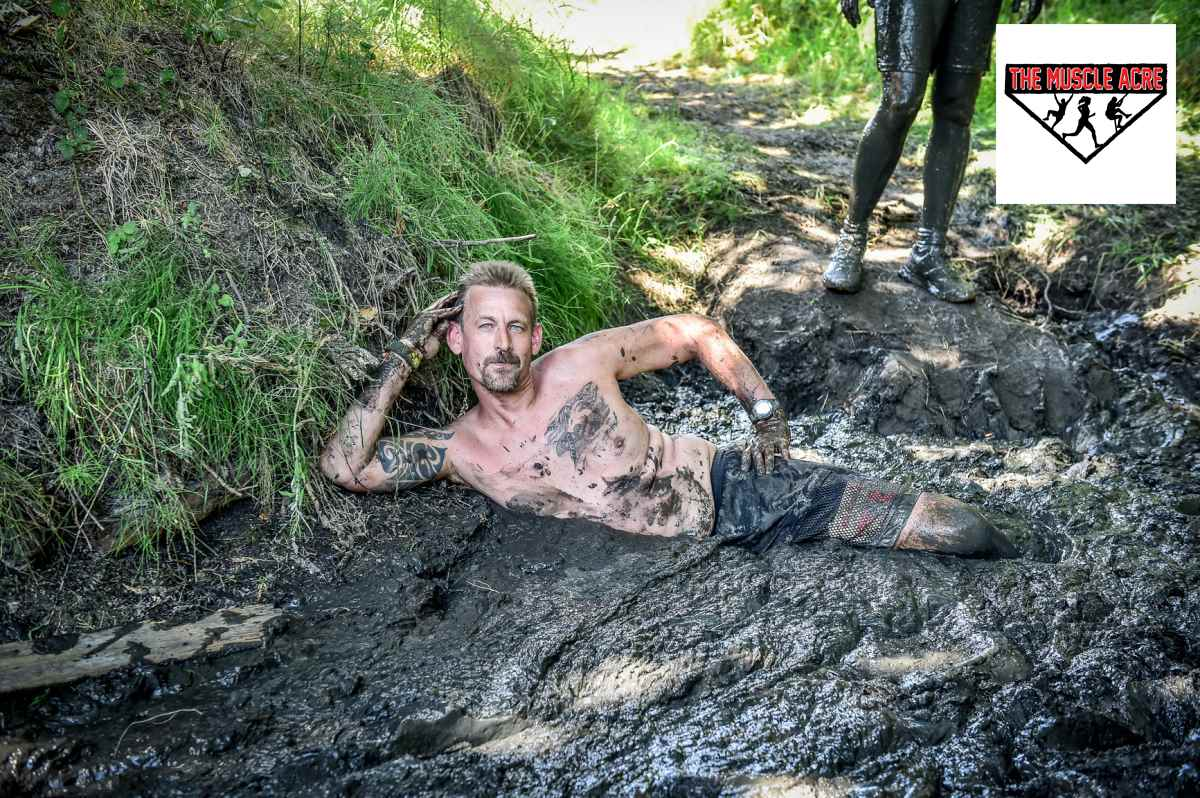 Muscle Acre Summer Madness 2018 Review - Ben mud pose