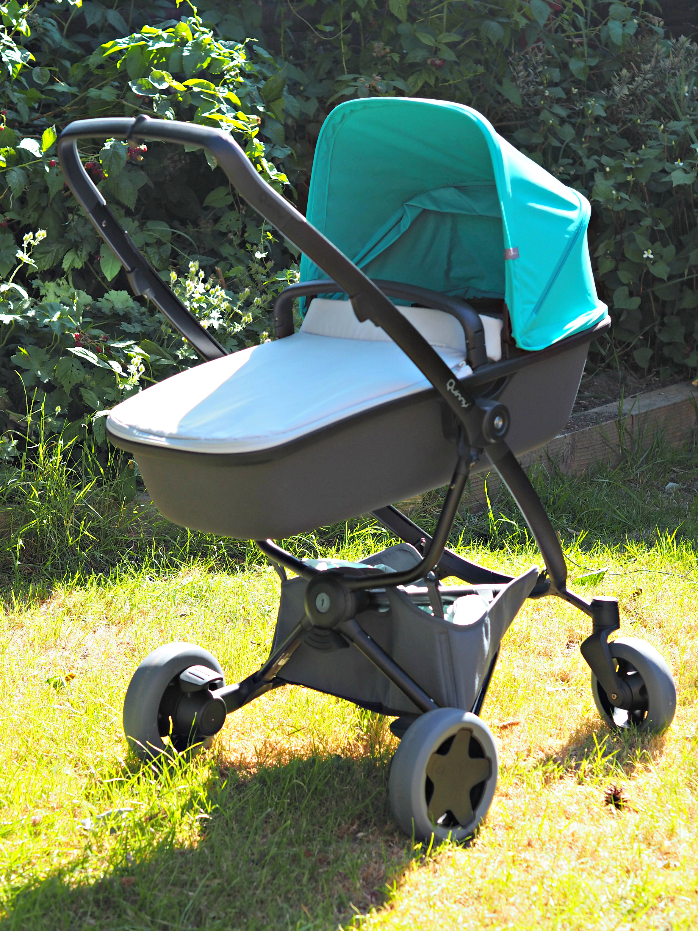 Quinny Zapp Flex Plus Carrycot Review - pram on its own