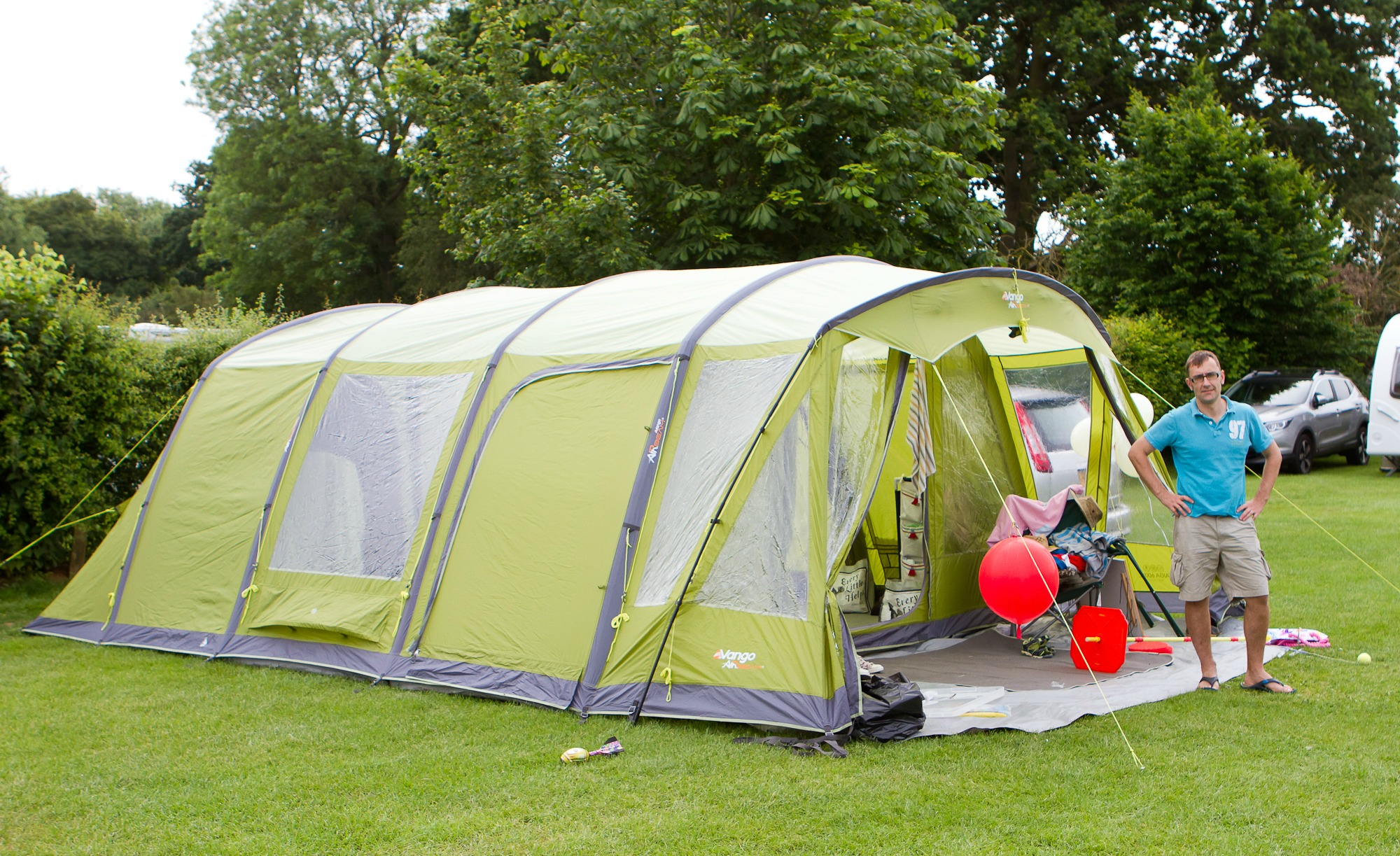 GUEST POST: An Inflatable Tent Saved my Marriage!
