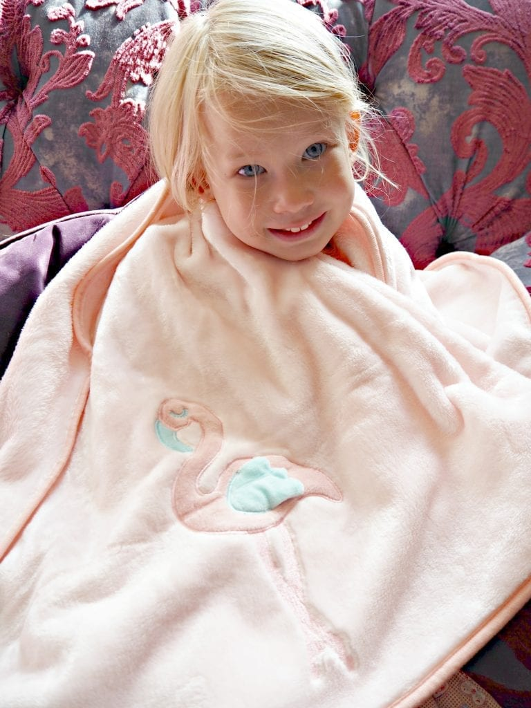 The Aldi Baby and Toddler Event is Back this August! Aria flamingo blanket