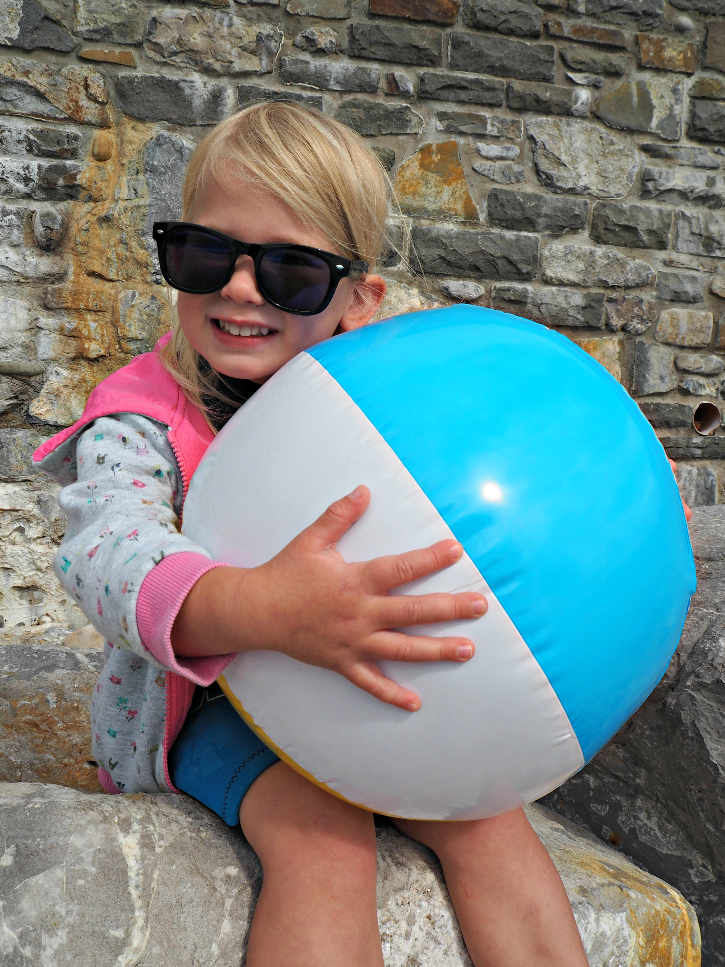 Moj Moj Tiny Toys to Fit in your Suitcase - beach ball