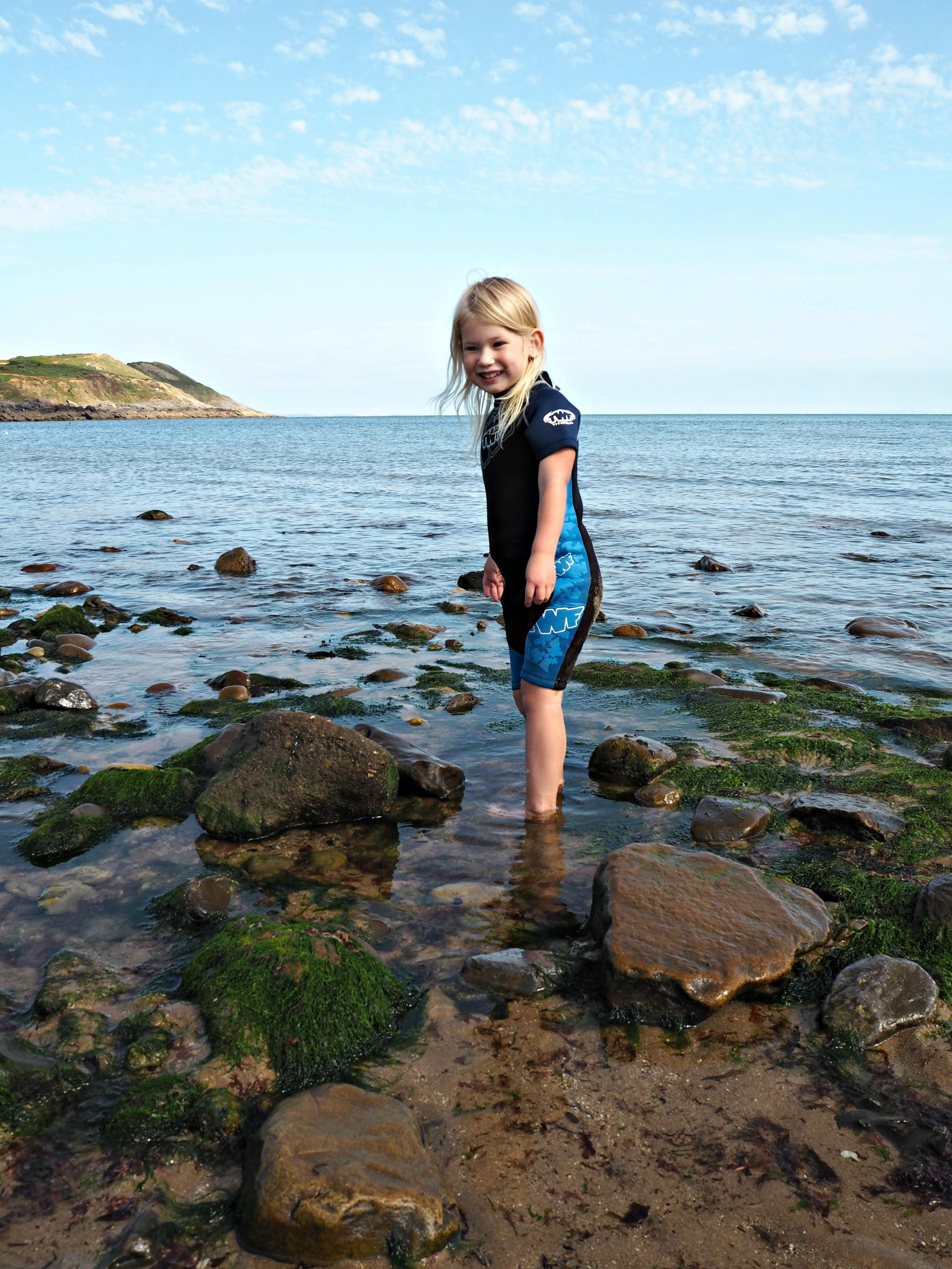 Our Welsh Holiday Highlights - Summer 2018 - Aria and rock pools