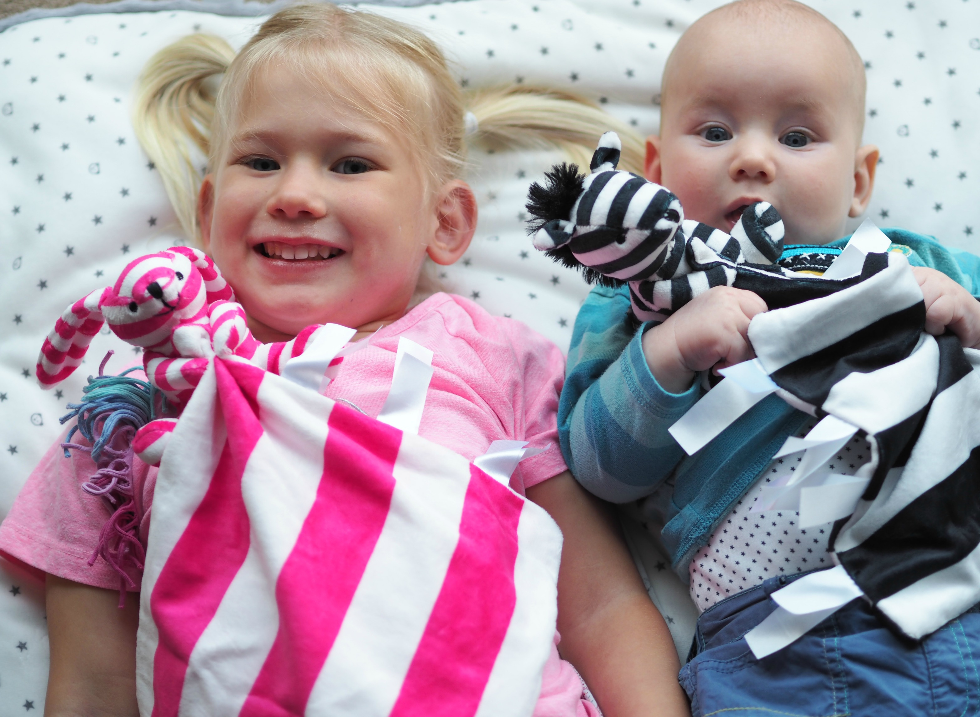 Ticklatots Tactile Soft Toys Review - Bodhi and Aria