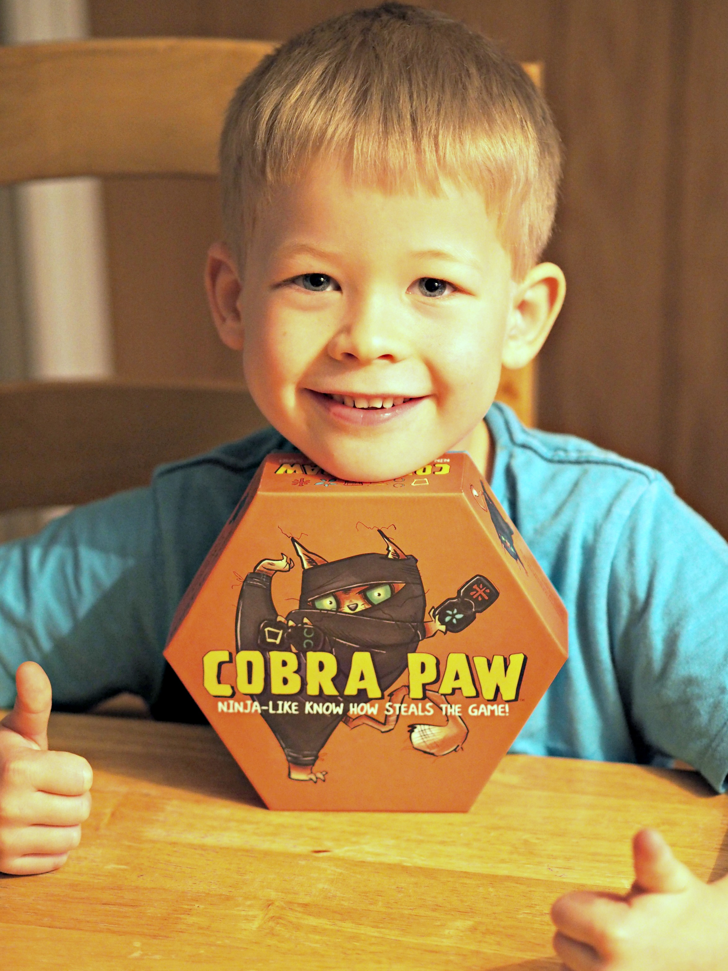 Asmodee Dobble and Cobra Paw Board Games Review - Cobra Paw