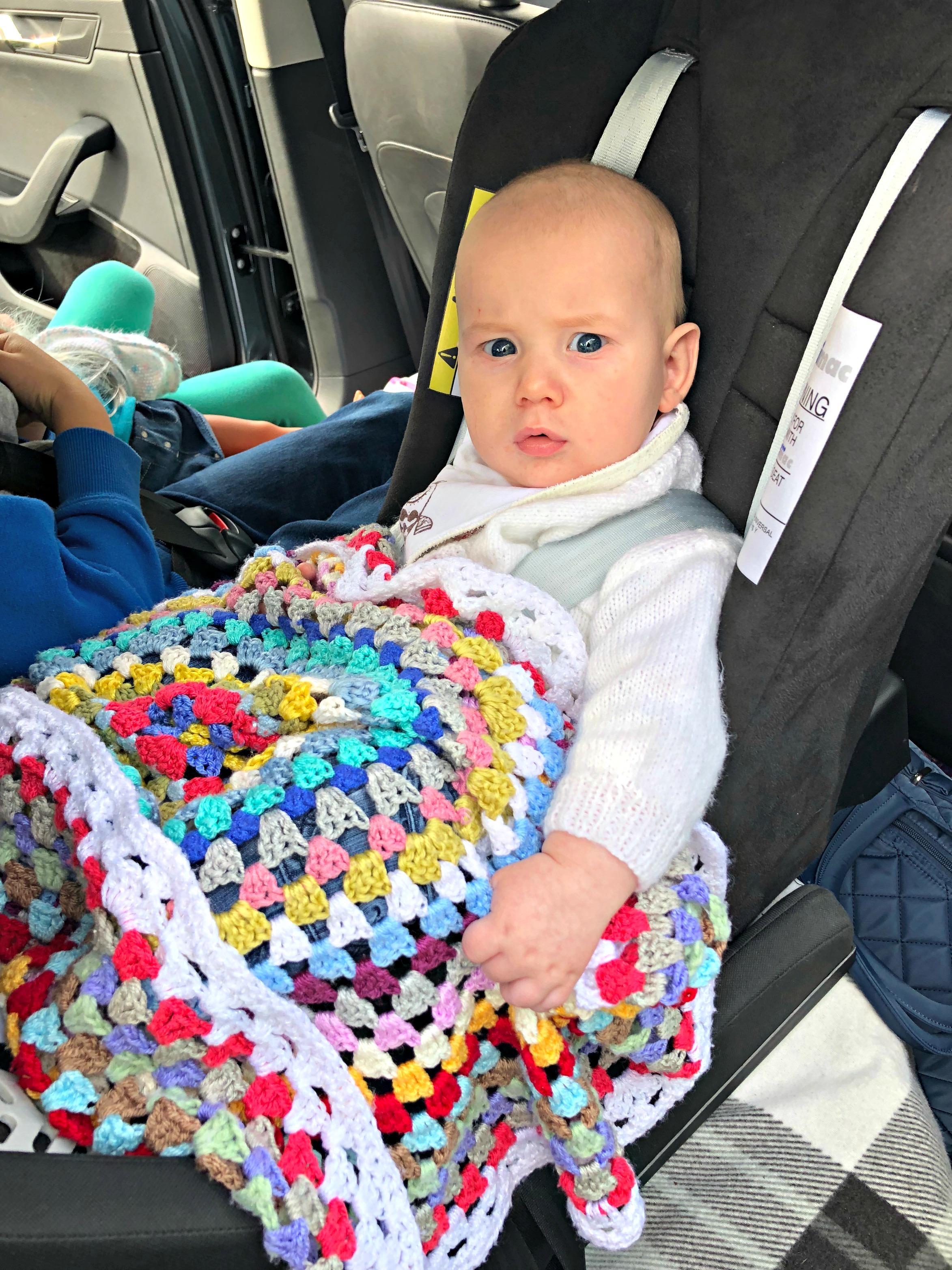 BEN'S ZONE Multimac Car Seat Review - Bodhi in Minimac