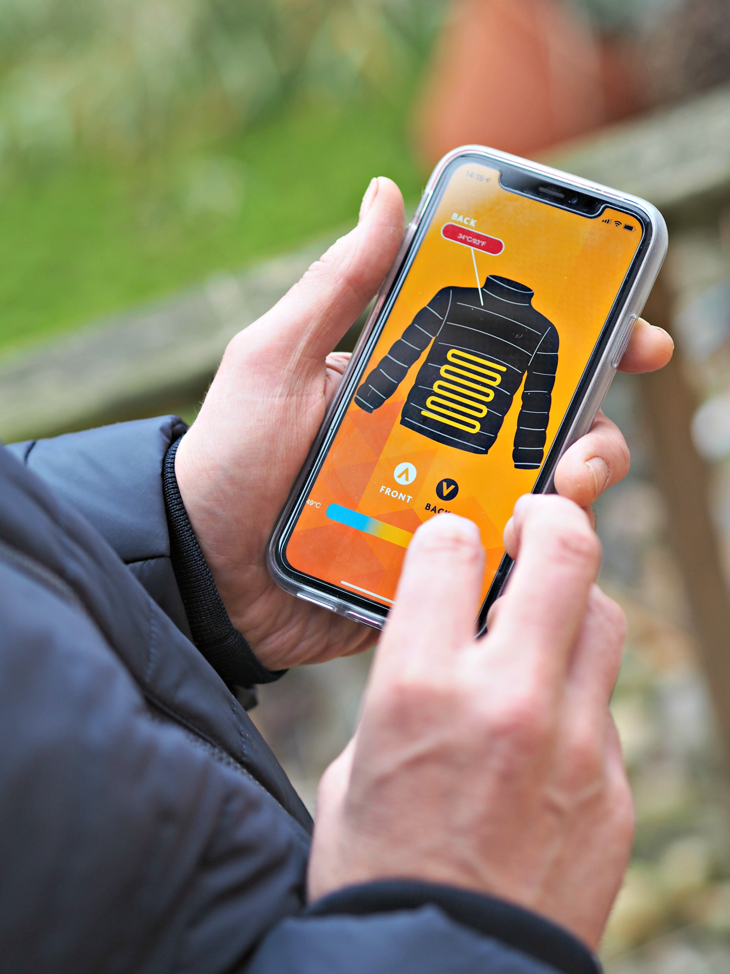 Flexwarm 8k Heated Jacket Review - using the app