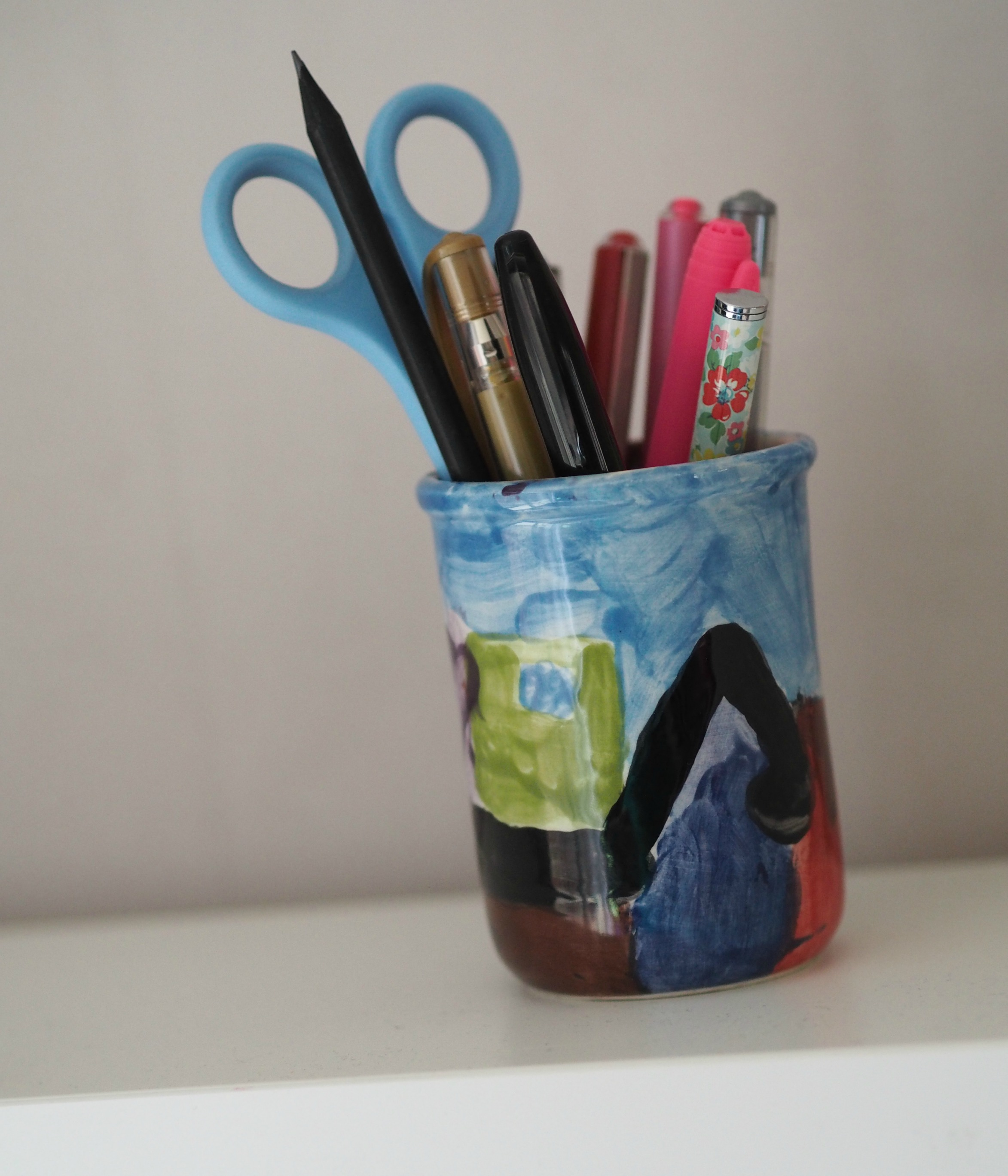 My Favourite Desk Item - pen pot