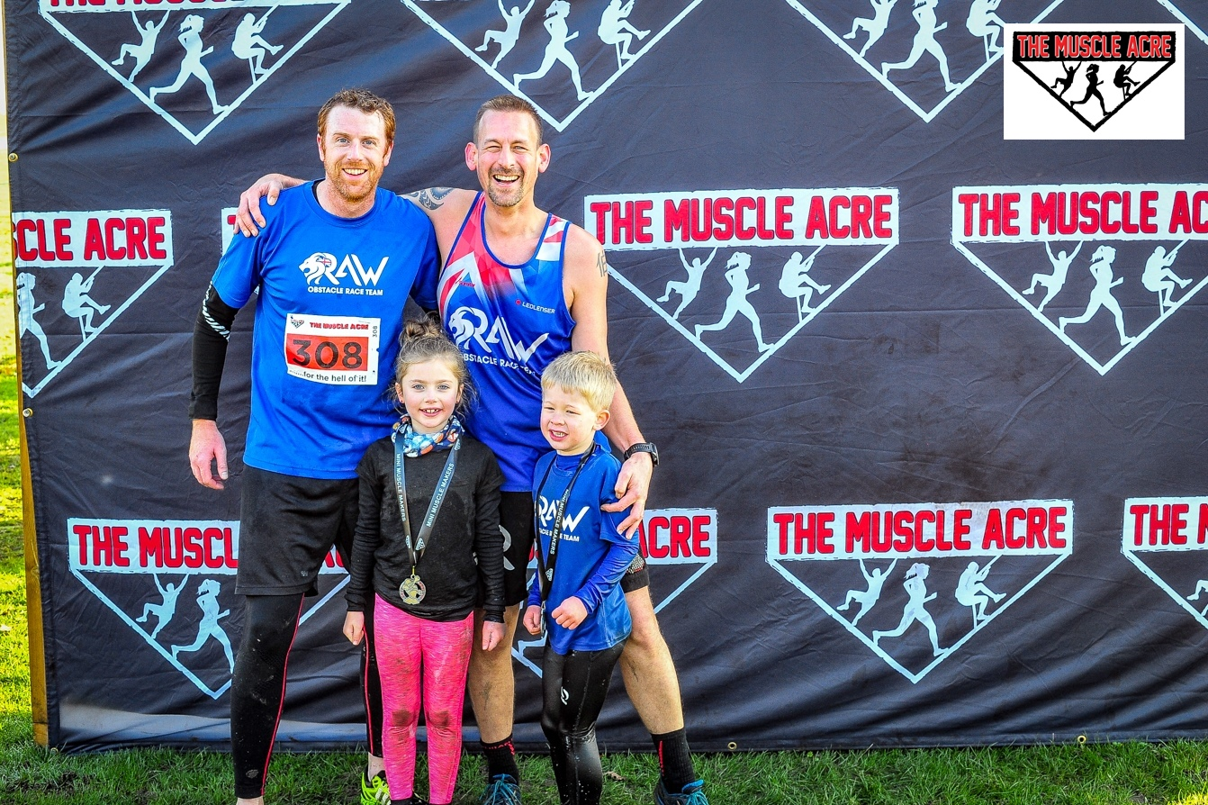 BEN'S ZONE: Muscle Acre Mud Slog 2018 Review - with Andy and Bella