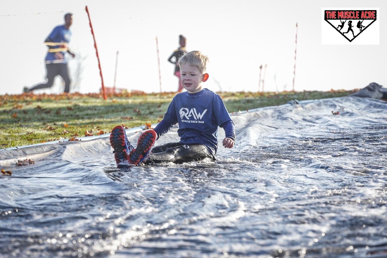 BEN'S ZONE: Muscle Acre Mud Slog 2018 Review - waterslide