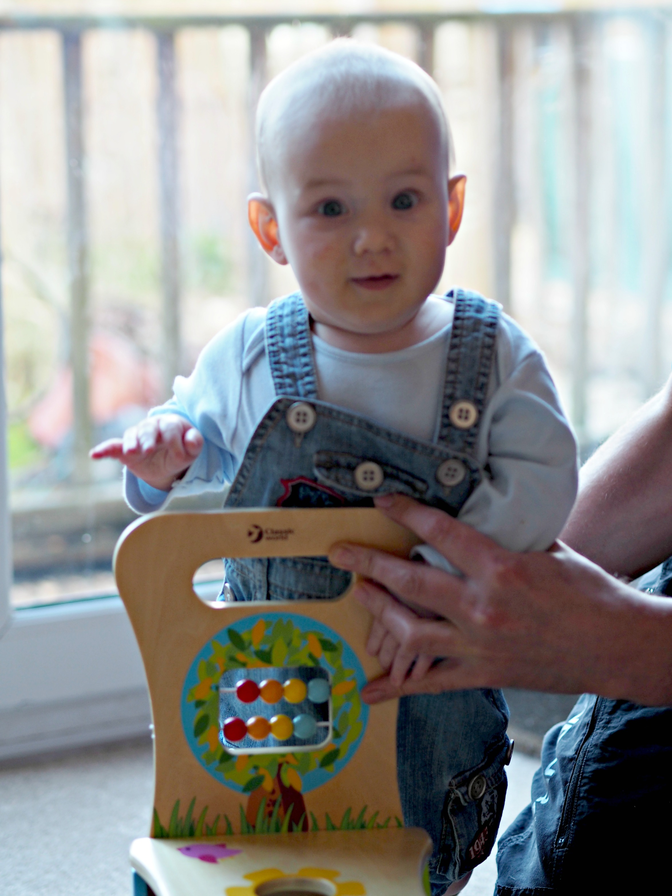 Hippy Chick Classic World Rider and Walker Review - Bo standing