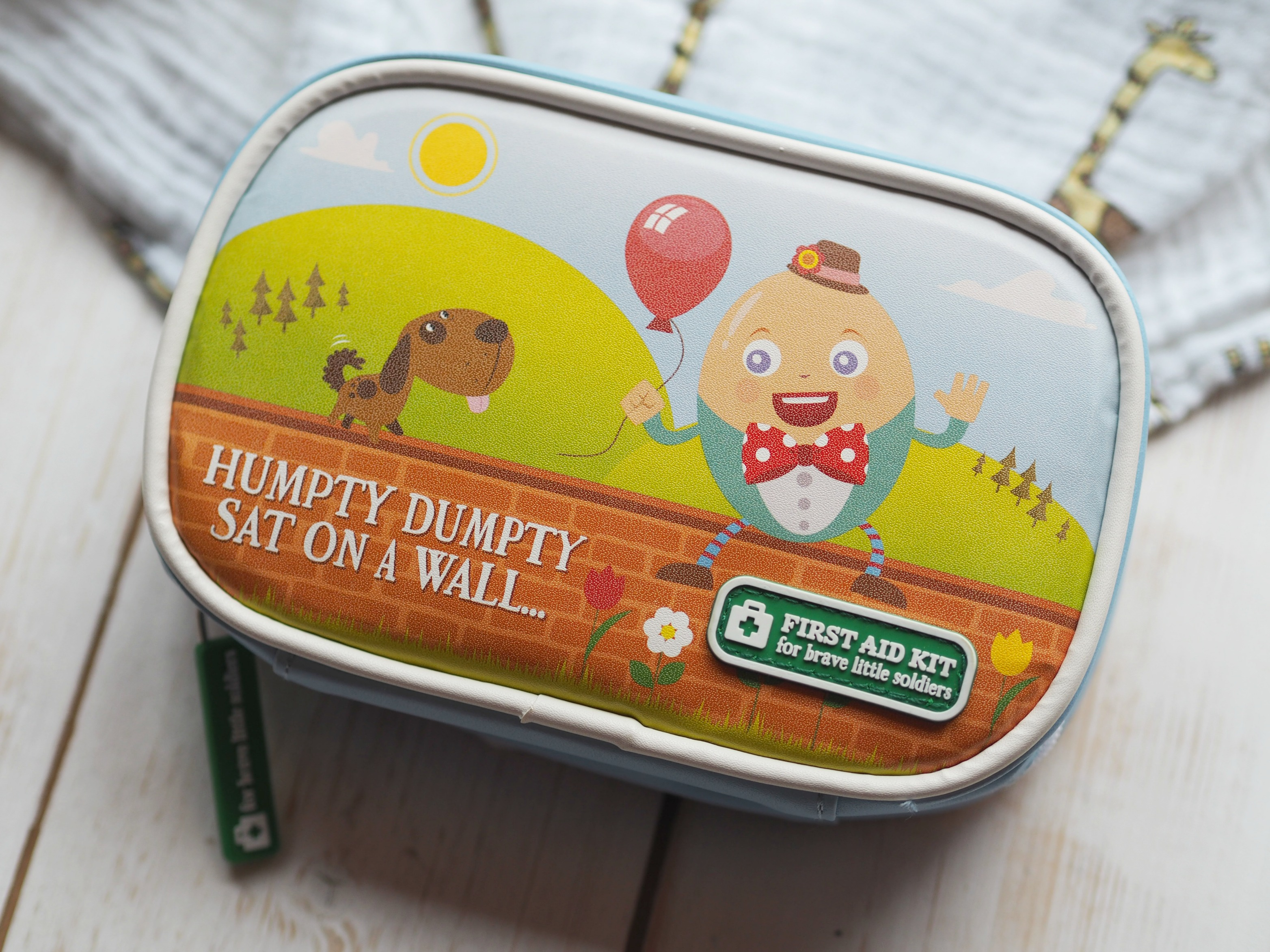 Yellodoor Baby First Aid Kit - Review and Giveaway - humpty dumpty set