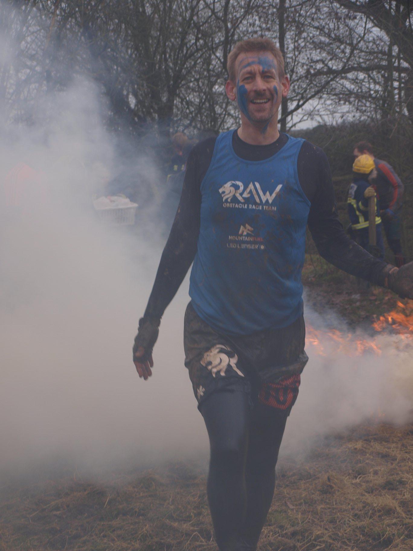 Tough Guy 2019 Review - fire pit