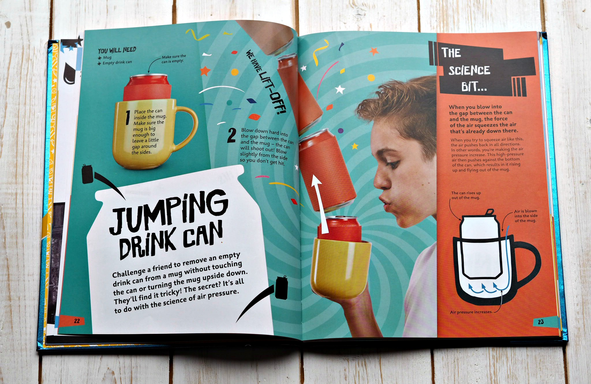 CHILDREN'S BOOK REVIEW Science is Magic by Steve Mould - inside page 2