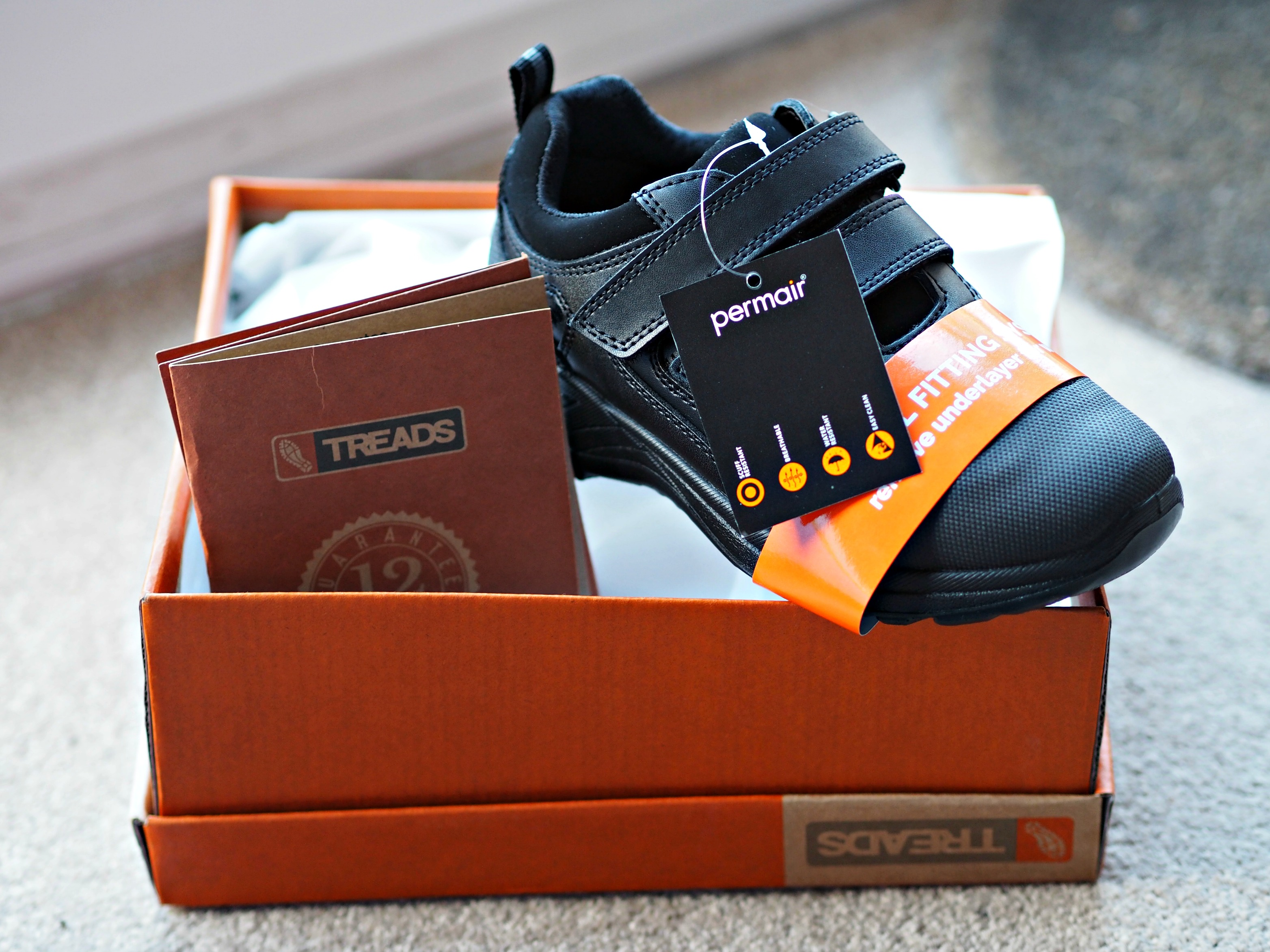 Treads School Shoes with a 12 Month Guarantee Review