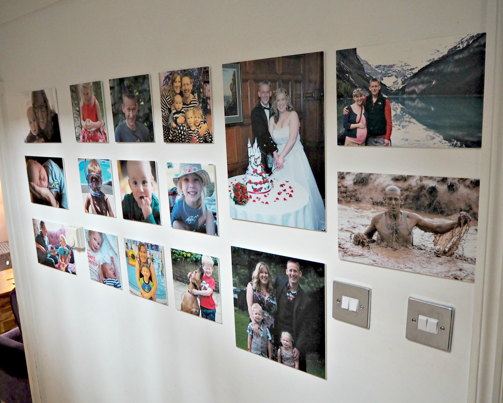 Creating a Photo Wall with MyPicture.co.uk