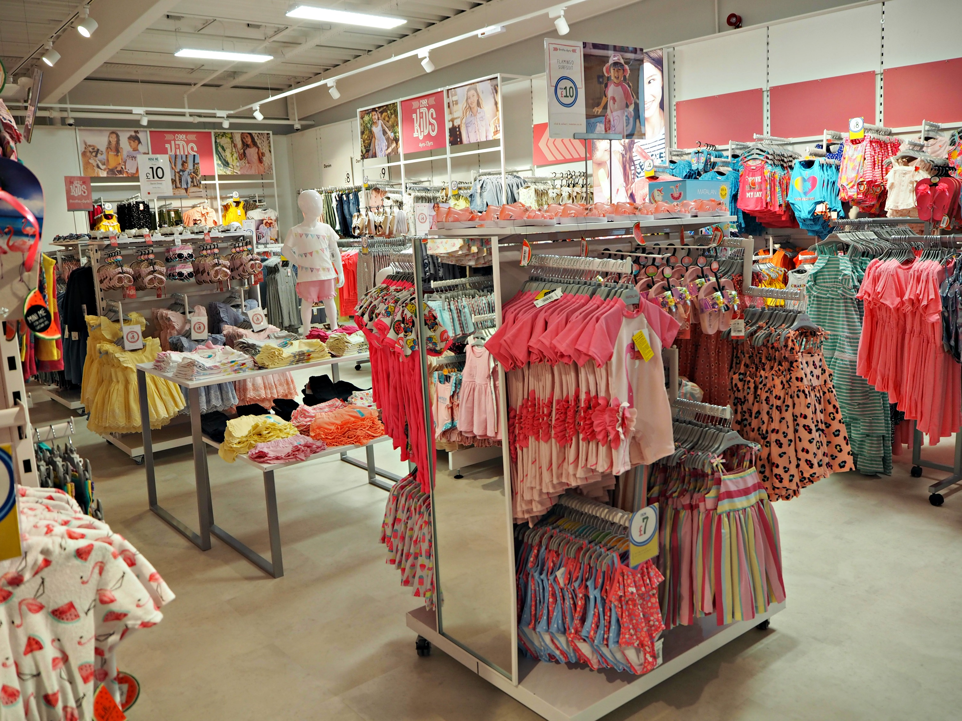 The Opening of Matalan in The Lexicon Bracknell - girlswear