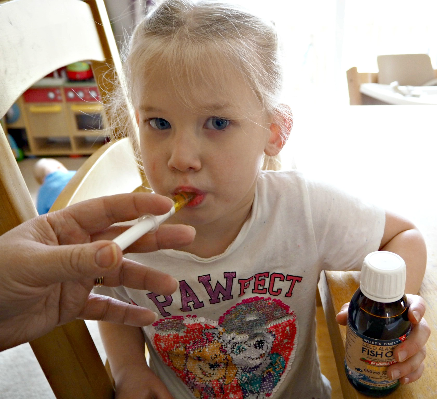 Wiley's Finest Beginner's DHA and Vitamin K2 - Aria taking fish oil
