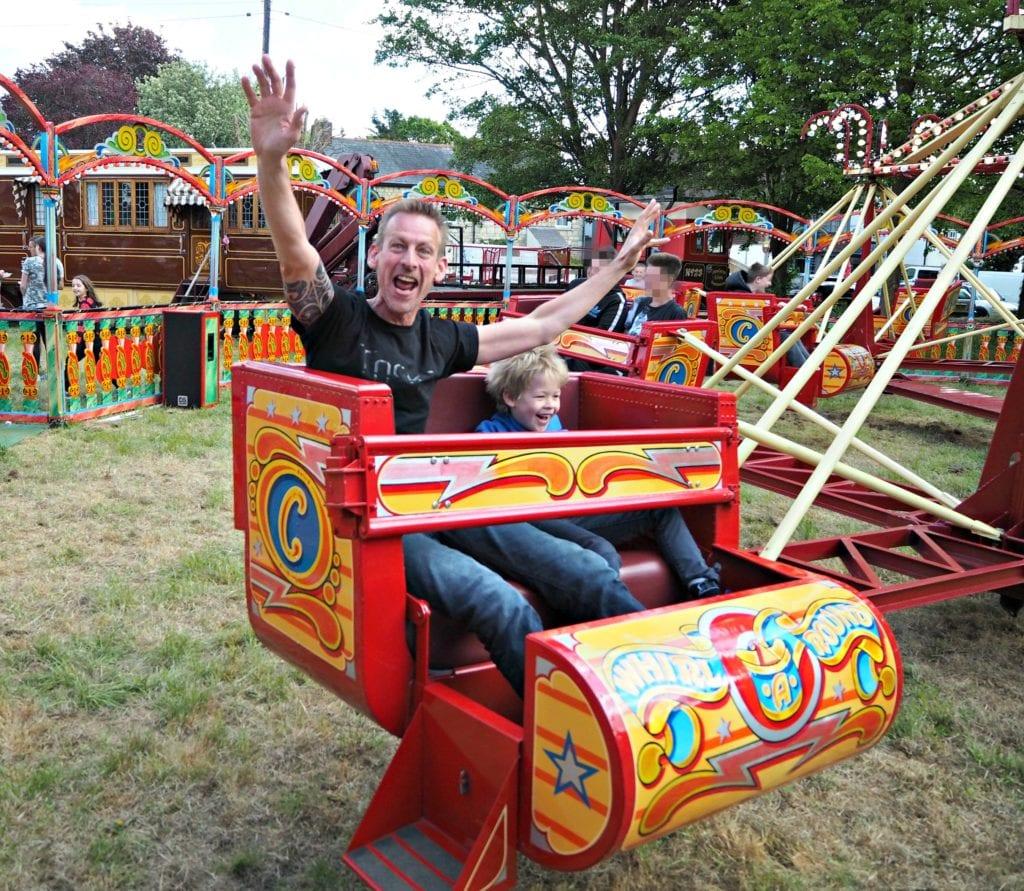 Carter Steam Fair Whirl Around