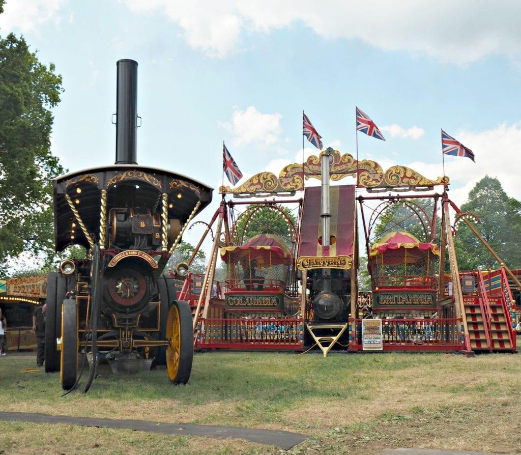 Carters Steam Fair - flags