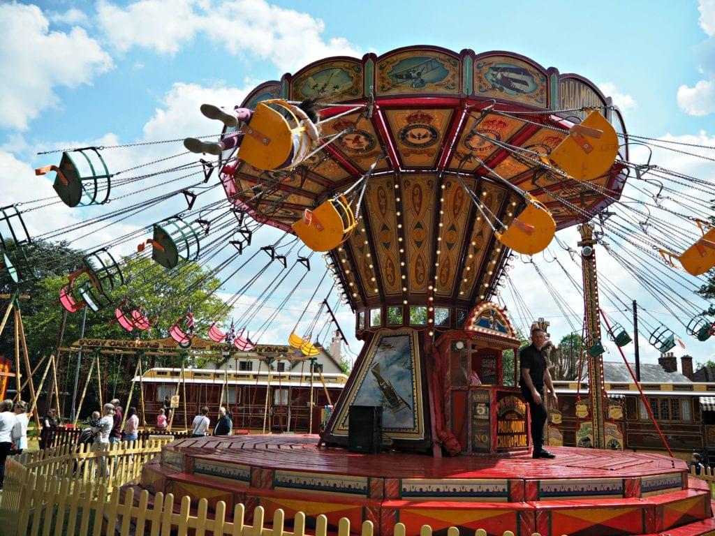 Carters Steam Fair - swings