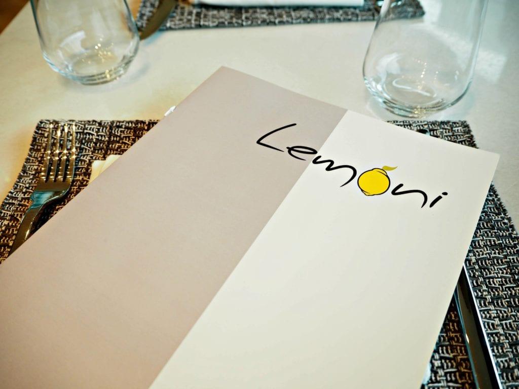 Lemoni menu